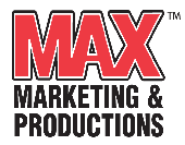 MAX Marketing & Productions Logo